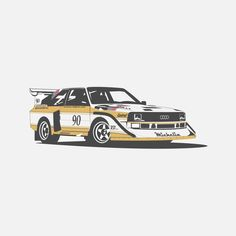 Audi Quattro on Behance