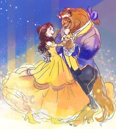 Image uploaded by Find images and videos about disney, beast and belle on We Heart It - the app to get lost in what you love. Walt Disney, Disney Belle, Disney Couples, Disney Films, Disney And Dreamworks, Disney Love, Disney Magic, Disney Pixar, Disney Stuff