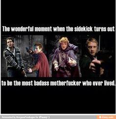 Neville Longbottom - Harry Potter, Rory Williams - Doctor Who, Sam Gamgee - LOTR, John Watson - BBC Sherlock