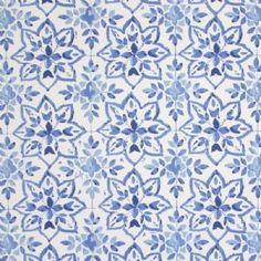 Avignon Oilcloth in Porcelain