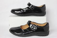 Hush Puppies Black Patent Leather Chatham Mary Janes Size 7 H301392