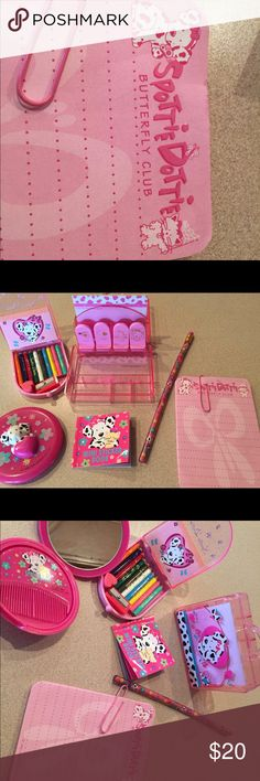 Spottie Dottie Haul Selling a mini collection of Spottie Dottie items. In gently used condition. Please see picture for minimal wear. Sanrio Other