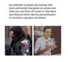 Bucky and sebastian stan