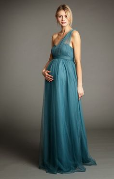 Jenny Yoo | Pretty Perfect Looks for Pregnant Bridesmaids