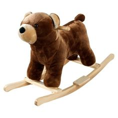 Happy Trails Rocking Barry Bear with Sounds - Brown : Target