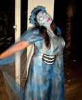 Emily from Corpse Bride Costume - 2012 Halloween Costume Contest