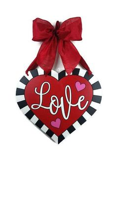 Valentine wreath Valentine door hanger Heart wreath Heart – Valentine's Day Valentines Day Office, Valentine Day Wreaths, Valentines Day Decorations, Valentine Day Crafts, Holiday Wreaths, Holiday Crafts, Holiday Fun, Holiday Decor, Office Decorations