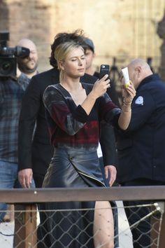 #MariaSharapova, #Style Maria Sharapova Street Style - Rome, Italy 05/14/2017 | Celebrity Uncensored! Read more: http://celxxx.com/2017/05/maria-sharapova-street-style-rome-italy-05142017/