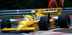 Ayton Senna Camel Lotus 1987
