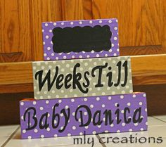 Get Ready for Baby Girl by Megan Yates on Etsy