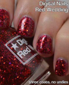 Red Wedding -- Digital Nails