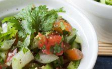 Salada chocante