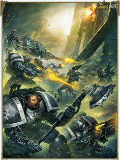 Iron Hands against Dark Eldars
