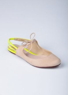 Schutz - Cindy Slingback Flat - Flats - Womens Online Clothing Boutique | Collective Habit