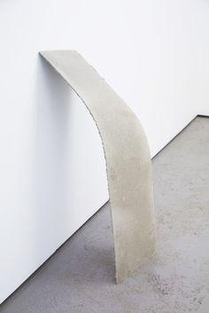 Christoph Weber   Bent Inversion 2012 concrete