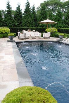 Backyard Pool Designs, Swimming Pools Backyard, Swimming Pool Designs, Pool Decks, Lap Pools, Backyard Ideas, Indoor Pools, Patio Ideas, Garden Ideas