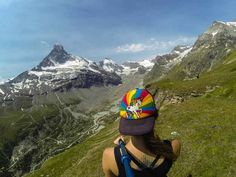 Zermatt, Switzerland - Edelweiss Trail Hiking
