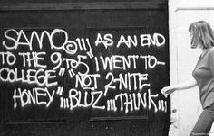 SAMO (De Jean Michel Basquiat), Metropolitana di New York