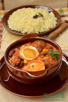Steak Recipes, Egg Recipes, Seafood Recipes, Cooking Recipes, Hungarian Recipes, Russian Recipes, My Favorite Food, Favorite Recipes, Romanian Food