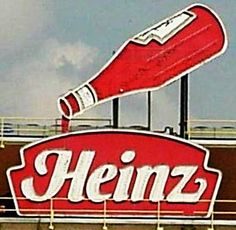 Heinz Catsup factory! I grew up seeing that sign every time we went to the city