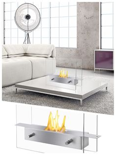 Ignis Tab   Indoor/Outdoor Table Top Ethanol Fireplace (TTF 021)