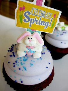 Spring is here! These little rabbits are so cute!