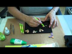 Hand Made Mulberry mini roses Tutorial - YouTube