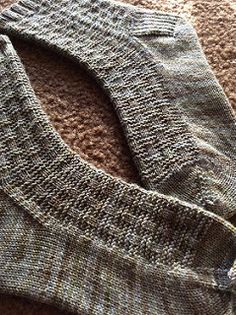 My mom is one of my biggest fans when it comes to knit socks. She prefers simple socks that are shorter in the leg and in neutral colors, so these were designed for her.