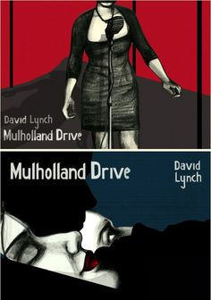 SET OF TWO Mulholland Drive Posters, Original Polish poster designed by Swava Harasymowicz. Polish Posters Shop - online shop and gallery with Posters from Poland Polish Movie Posters, Film Posters, Mullholland Drive, Drive Poster, David Lynch, Light Film, Alternative Movie Posters, Creative Posters, Film Music Books