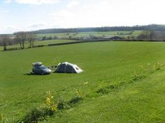 Burhope Farm Campsite, Wye Valley, Orcop, Herefordshire. Pet Friendly Campsite Holiday in England.