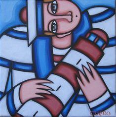 Peintures tableaux acryliques