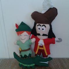 Peter Pan, Capitão Gancho e o Jacaré