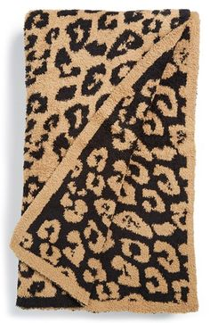 Add an exotic detail to your living room or bedroom décor with a leopard-jacquard blanket made from sumptuous microfiber for cozy cuddling. Style Name:Barefoot Dreams Cozychic In The Wild Throw Blanket. Style Number: Available in stores. Dream Blanket, Barefoot Dreams Blanket, Closet Tour, Shops, Shop Nordstrom, Nordstrom Anniversary Sale, Soft Blankets, Dream Decor, Colors