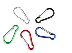 Liroyal 10 Multicolor S Carabiner Camp Spring Snap Clip Hook Keychain Keyring Climbing Hiking by Liroyal Materials: aluminum alloy Dimension: 41x20x4mm 10 X Carabiner Hooks (Barcode EAN = 0787162796391). http://www.comparestoreprices.co.uk/december-2016-3/liroyal-10-multicolor-s-carabiner-camp-spring-snap-clip-hook-keychain-keyring-climbing-hiking-by-liroyal.asp