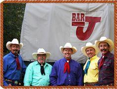 The Bar J Wranglers, a fantastic cowboy show near Jackson Hole, Wyoming.
