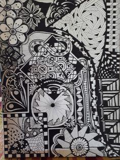 506 Besten Schwarz Weiß Muster 3 Bilder Auf Pinterest Doodles