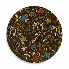 Oriental Weavers™ Sphinx™ Montego Leaves Indoor/Outdoor Rug in Brown - BedBathandBeyond.com