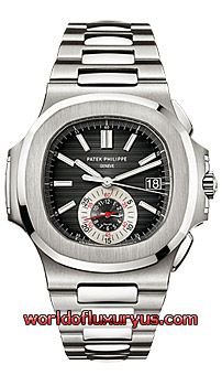 Patek Philippe - Men's Nautilus - 5980/1A (Stainless Steel / Blue Dial / Stainless Steel, Satin, Polished) - See more at: http://www.worldofluxuryus.com/watches/Patek-Philippe/Nautilus/5980/1A/46_58_3362.php#sthash.mnRitlpS.dpuf