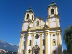 #Wiltener Basilika in #Innsbruck - Austria