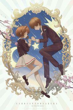 CCSakura: Sakura x Syaoran Cardcaptor Sakura, Syaoran, Sakura Sakura, Otaku, Sakura Card Captors, Manga Anime, Xxxholic, Clear Card, Animes Wallpapers