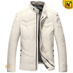 CWMALLS® Custom Down Filled Leather Jackets CW807037 Designer Leather down jackets crafted from rich natural lambskin leather shell, warm down filled, fully lined. CWMALLS offer customize for classic leather jacket featuring with warm down filled, front zip closure,side snap pockets, snap button sleeve tabs. www.cwmalls.com PayPal Available (Price: $668.89) Email:sales@cwmalls.com