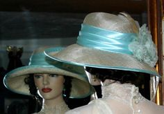 Edwardian Tea Hat Church hat Downton Abbey Hat by darnasderbyhats
