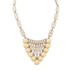 Light yellow necklace $2.59-->beads.us
