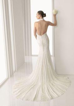 sexey   Wedding Dress | ... > Sexy wedding dresses > Chiffon V-neck A-line Sexy Wedding Dress