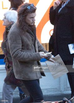 Harry Styles sighting on January 6, 2016 in London, England.