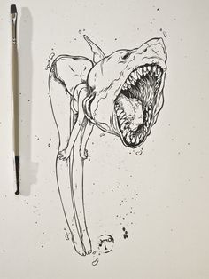 Inklings by T Wei, via Behance