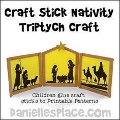 Nativity Triptych Craft