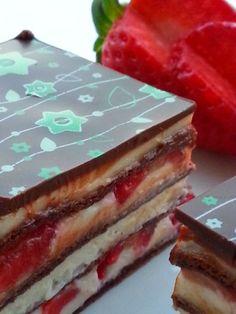 Rebekin zákusok (ovocný s jahodami), recepty, Zákusky | Tortyodmamy.sk