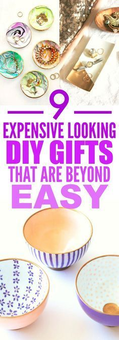 These 9 Expensive Looking DIY gifts are THE BEST! I'm so glad I found these AWESOME ideas! Now I found some great gifts to make for friends. Definitely pinning for later!