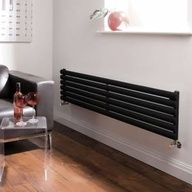 Hudson Reed Revive Horizontale Design Radiator 1780mm x 354mm-1739 ...